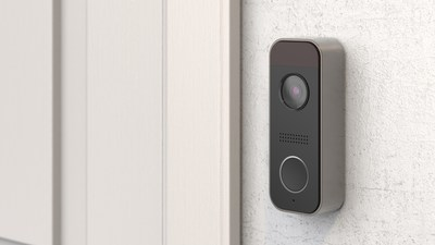 The Momentum Knok WiFi video doorbell connects your smartphone to a live video feed of your front door. Knok features a high definition camera, built in security siren, two-way audio, and Google Assistantintegration capabilities all for $129.99.