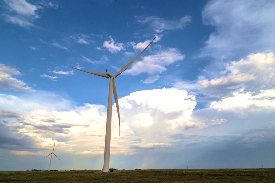 Grady Wind in Curry County, New Mexico