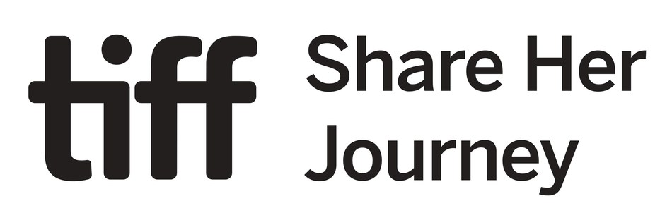 TIFF Share Her Journey logo (CNW Group/Four Seasons Hotel Toronto)