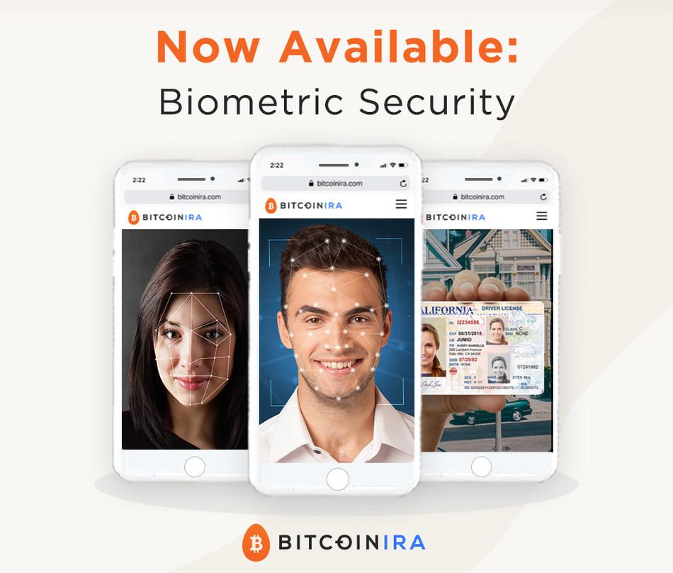 Bitcoin IRA Advanced Biometric Security