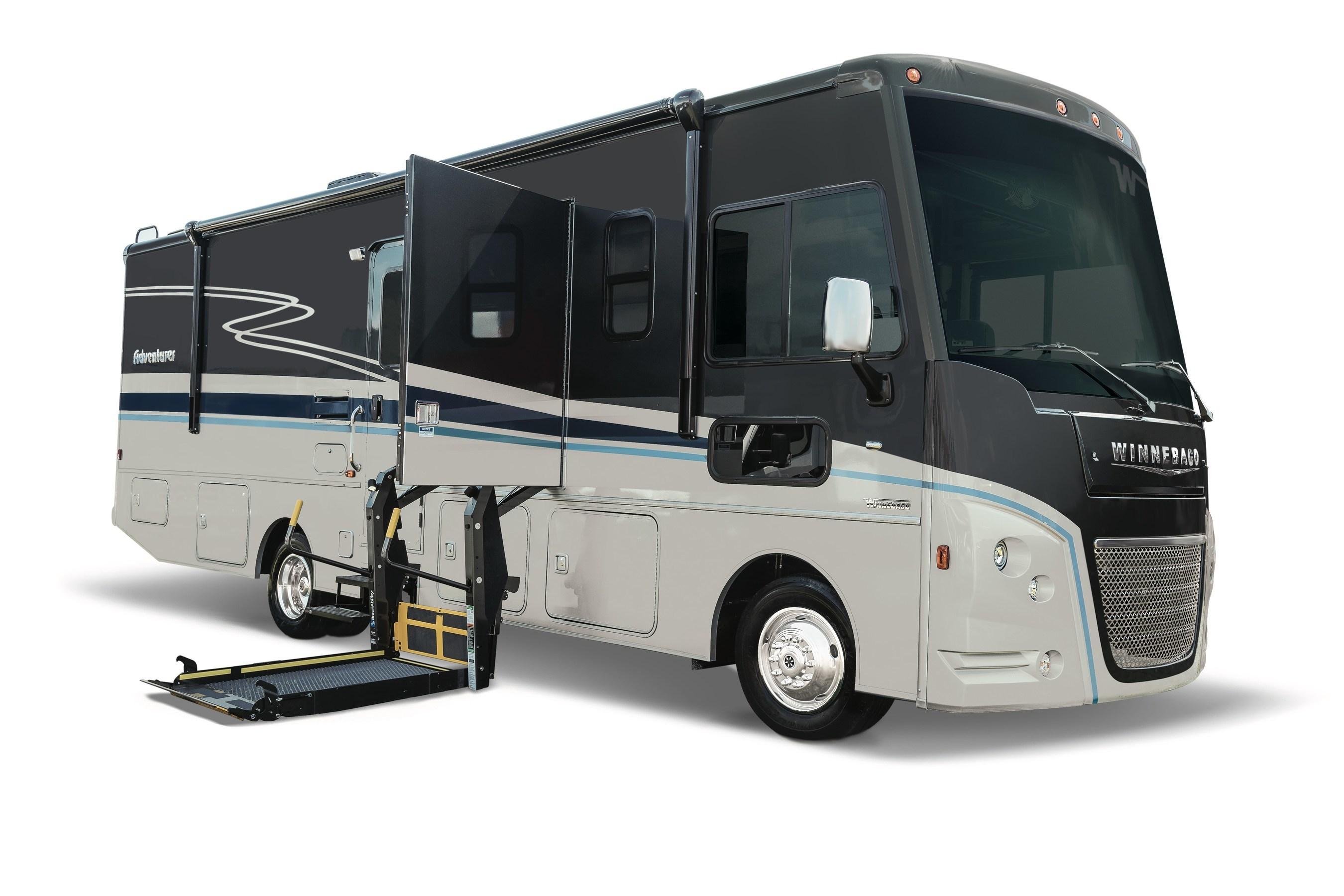 Winnebago Reveals 2020 Wheelchair-Ready Motorhomes and New