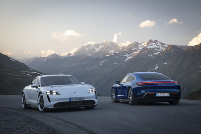 Taycan Turbo S and Taycan Turbo