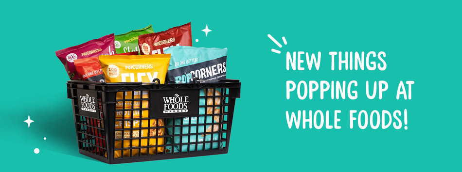 PopCorners® Launches in Whole Foods Nationwide