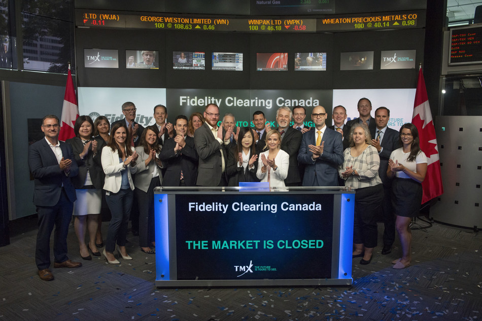 Fidelity Clearing Canada Closes the Market (CNW Group/TMX Group Limited)