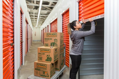U-Haul® is now operating a retail and self-storage facility at 3083 Miller Road, where it revitalized a vacated building that previously housed a Kmart® store.