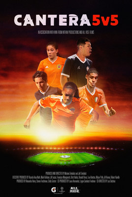 """Gatorade docu-series """"Cantera 5v5"""" will provide an intimate look at the stories of five aspiring athletes competing in the 2019 Global Gatorade 5v5 Soccer Tournament"""