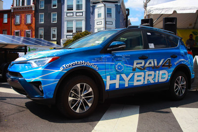 Thousands celebrate sustainability at Clean Air Council's Greenfest Philly presented by Toyota Hybrids.