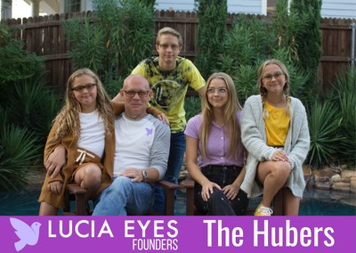 LUCIA VISION co-founding Father-Daughter team Daniel and Liz Huber have entered the eye wear marketplace on a mission to raise awareness among parents of school aged children regarding the previously unknown health impacts triggered by excessive blue-light exposure or (EBLE). As the mission took shape early in 2019, Liz enlisted the help of her siblings older brother Luke, and younger siblings Nick, Samantha and Tabitha during the selection of fashion forward frame styles and the naming of each