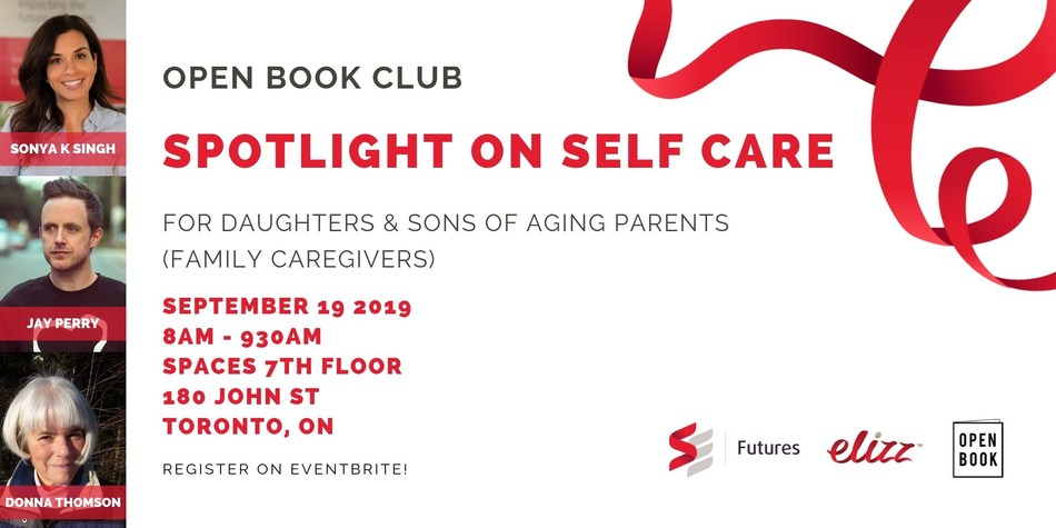 Open Book Club: Spotlight on Self Care for Family Caregivers (CNW Group/SE Health)