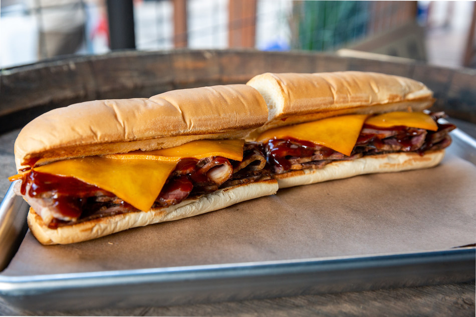 The NEW! Naturally Pit-Smoked Brisket sandwich is available now for a limited time only at participating Subway® restaurants.