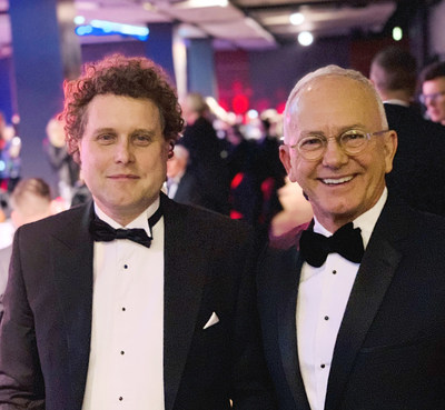 Peter Beck, Founder of Rocket Lab, and Ron Hicks, Founder and CEO of HerdX, finish first and second as New Zealand's top innovators of the year.