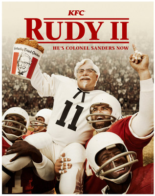 KFC reveals its newest celebrity Colonel Sanders—Colonel Rudy, played by Sean Astin, who's famously known for his leading role in the 1993 classic sports film Rudy.