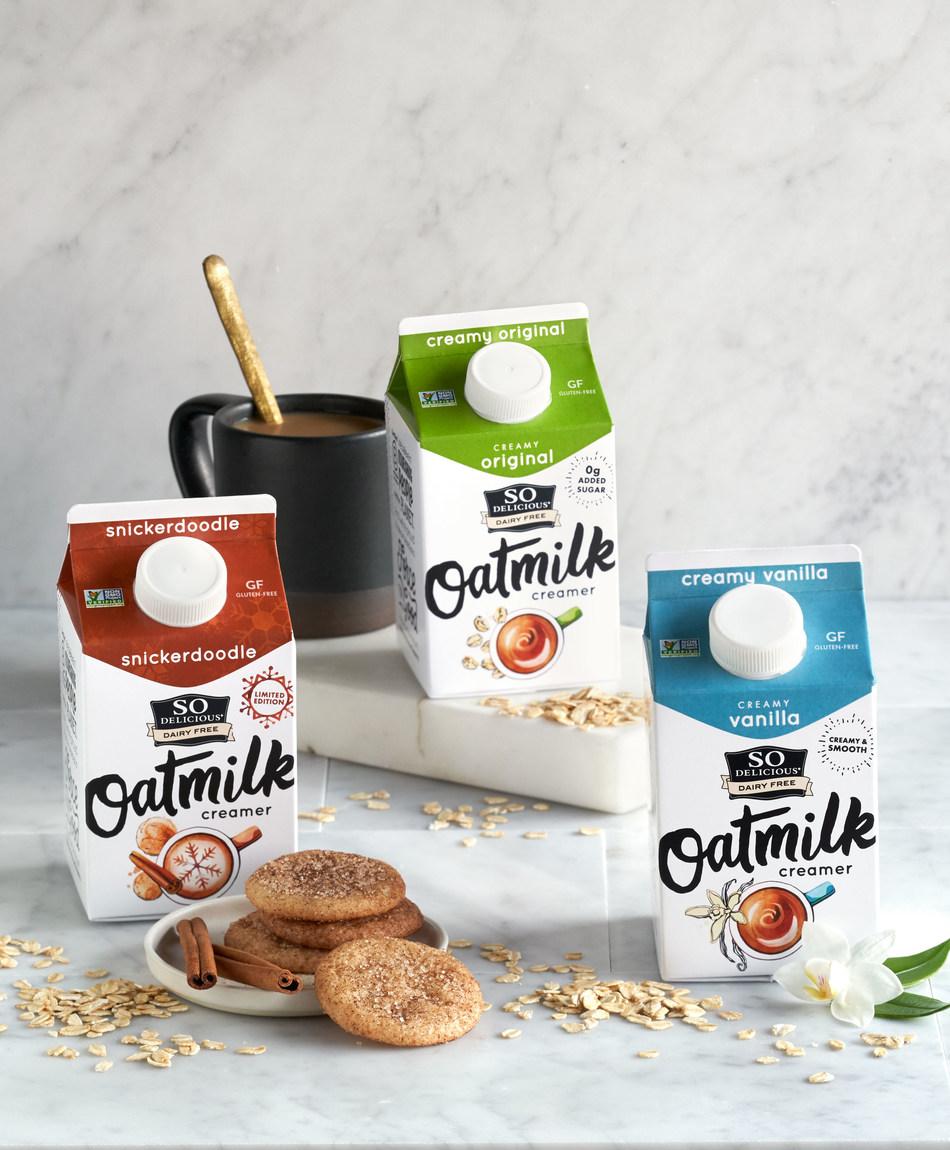 So Delicious Dairy Free Oatmilk Creamers