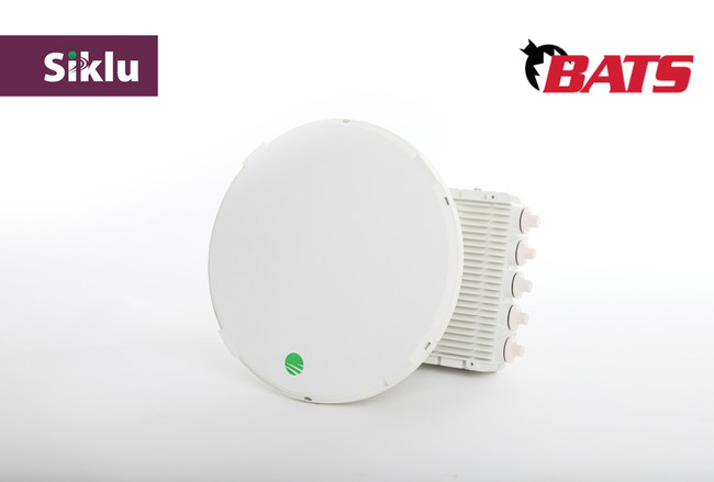 Siklu and BATS Wireless Announce Successful High Throughput Trials of combined EtherHaul™ 8010FX Radio and OnPoint 5G Antenna Stabilization Solution