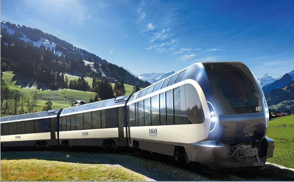 Goldenpass Express designed by Pininfarina (PRNewsfoto/The Pininfarina)