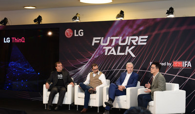 At LG Future Talk Powered by IFA, LG Shows How AI Can Make