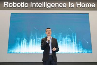 Jonathan Tang, Vice President, Head of Global Business at ECOVACS ROBOTICS, announced new Brand VI at IFA Berlin 2019 (PRNewsfoto/International Data Group)