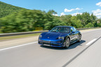 Revealed: Porsche Taycan Turbo hits the road for the first time