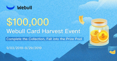 Webull Launches $100,000 Card Harvest Event