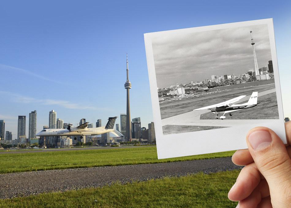 Billy Bishop Airport Celebrates 80th Anniversary! (CNW Group/PortsToronto)