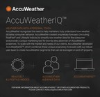 Launch of AccuWeatherIQ™ brings weather targeting to industry leading data platforms, enables brands and advertisers