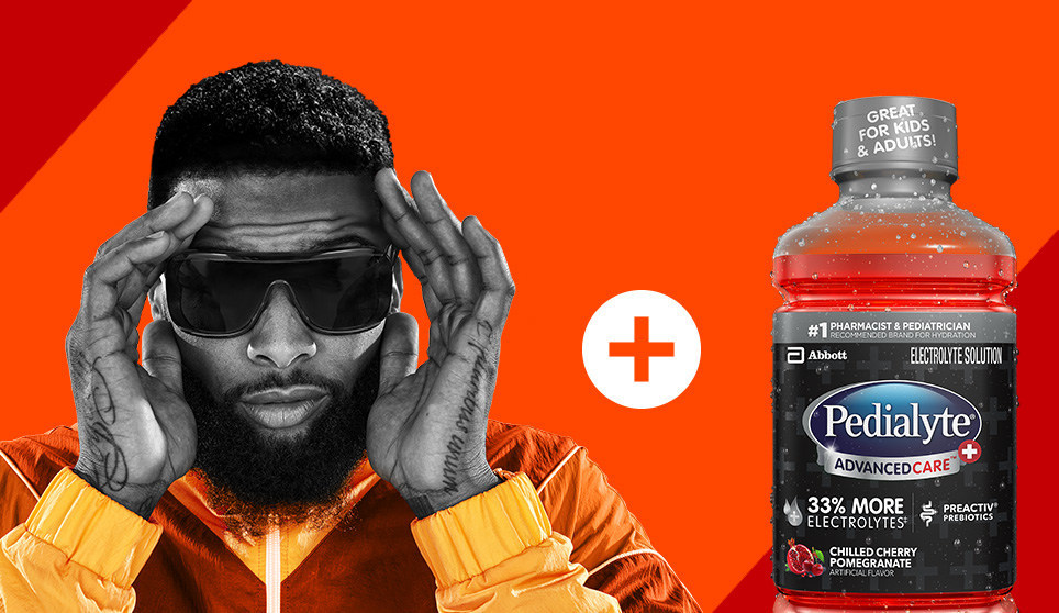 He S Back And He S Hydrated Abbott And Nfl Star Odell Beckham Jr Partner For Pedialyte Sep 6 2019