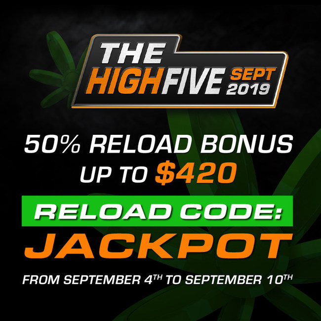 Do you like free money? Get advantage of this great reload bonus!