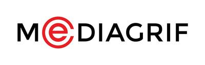 Logo : Technologies Interactives Mediagrif Inc. (Groupe CNW/Réseaux MERX Inc.)