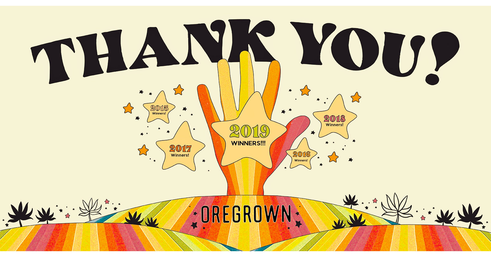 Oregrown™ Wins Award for Best Dispensary for Fifth Year in a