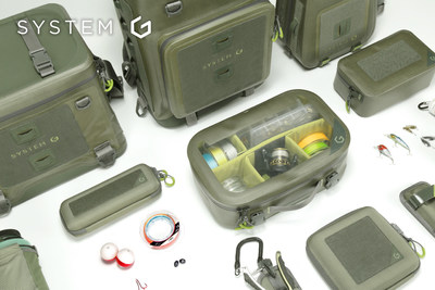 SYSTEM G Fishing+ The World's 1st Modular Fishing Bag System   Fishing + Sling - Beck, Fishing+ Tackle bag - Cora, Fishing+ Backpack - DAX