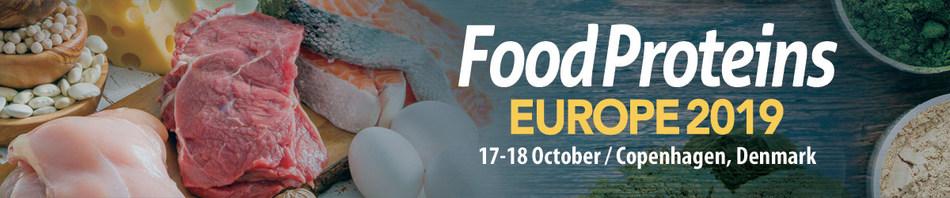 Food Proteins EUROPE 2019 (PRNewsfoto/Centre for Management Technolog)