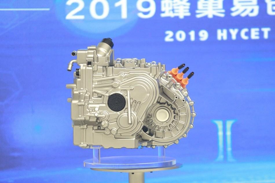 """HYCET's """"I-era"""" 9DCT transmission at Frankfurt Motor Show 2019"""