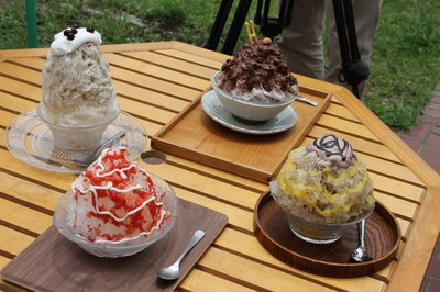 Kumagaya offers cool dessert for rugby fans