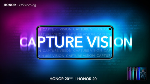 Key Visual for HONOR's Capture Vision Campaign that launches PocketVision app