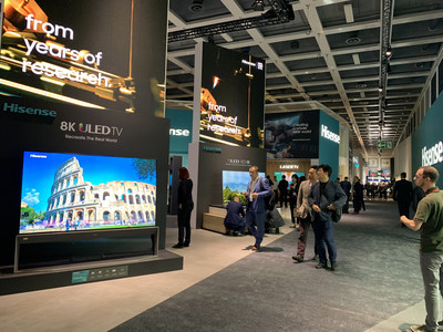 Hisense, Gorenje y ASKO presentan sus productos en IFA 2019 (PRNewsfoto/Hisense Group)