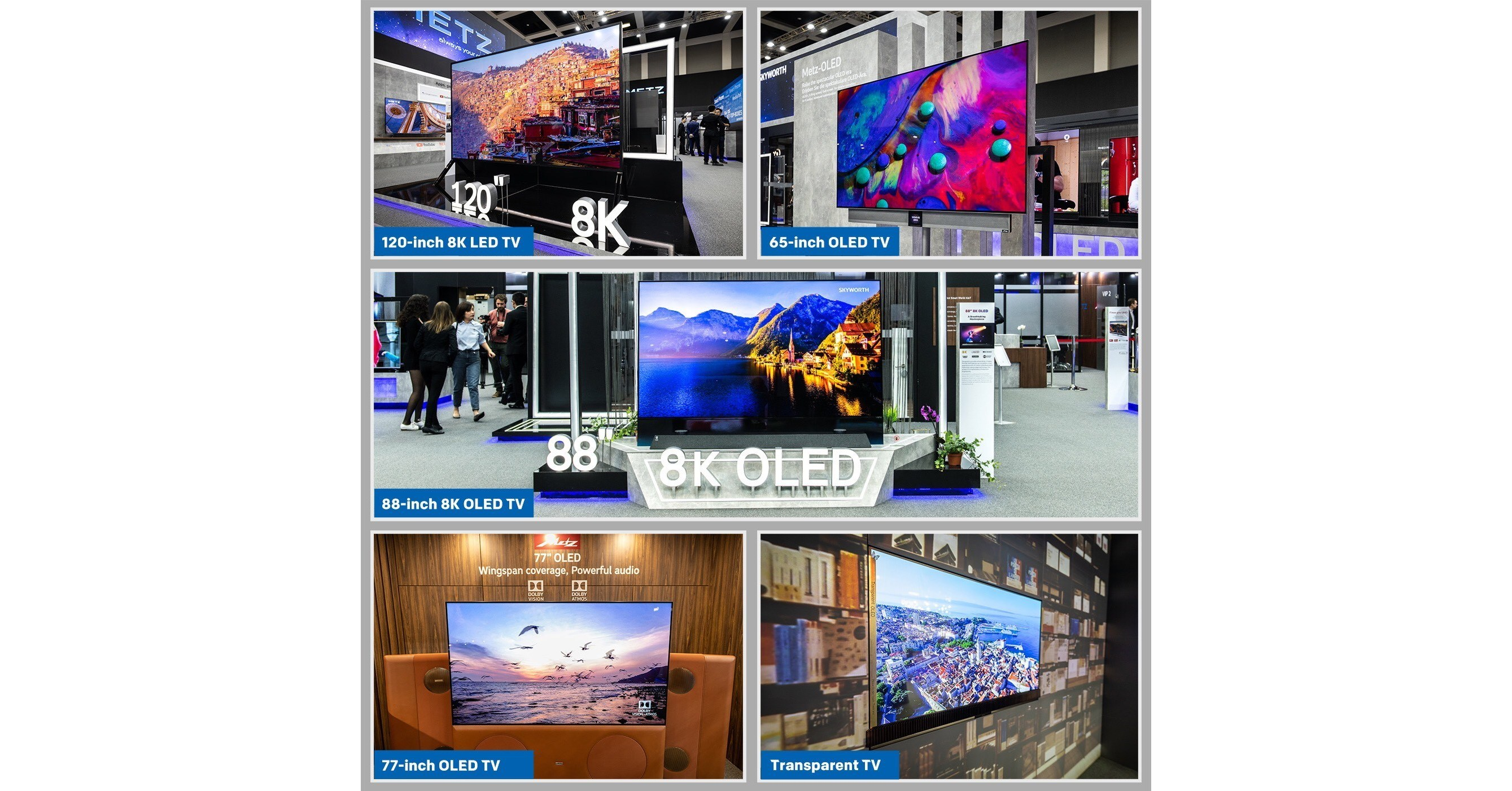 New Metz Concept TVs at IFA 2019: Define the Future of Smart