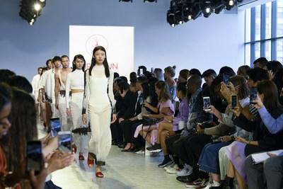 China's Leading Underwear Brand THREEGUN Hits the New York Fashion Week Runway
