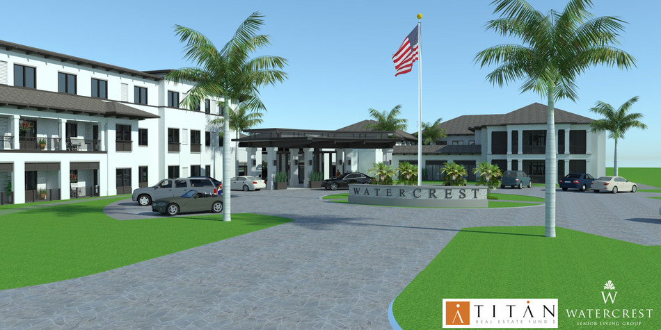 Watercrest Senior Living Group and Titan Development Real Estate Fund I are pleased to announce that construction is more than 80 percent complete at Watercrest Winter Park Assisted Living and Memory Care in Winter Park, Fla.