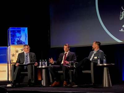 Wounded Warrior Project CEO Lt. Gen. (Ret.) Mike Linnington hosted a panel discussion on military to civilian transition during the annual America's Warrior Partnership Warrior Community Integration Symposium in Atlanta.