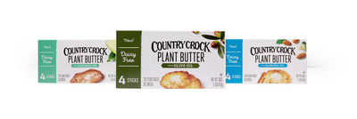 New Country Crock® Plant Butter marks a leap forward in plant-based eating for dairy butter lovers