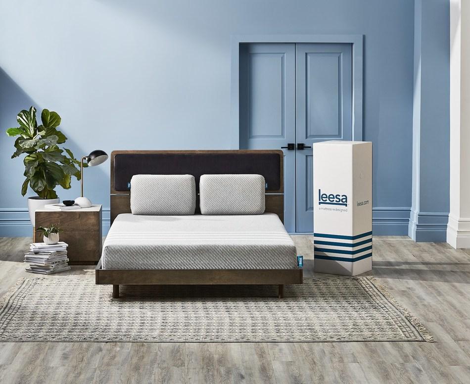 Leesa Sleep, a socially responsible luxury mattress company launches at Hudson's Bay to help Canadians sleep better. (CNW Group/Leesa Sleep, LLC)