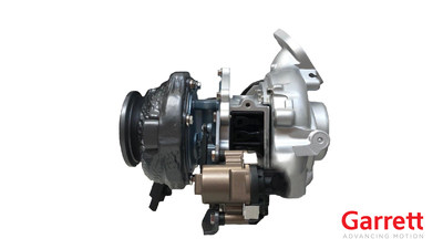 Garrett to unveil an electrified turbocharger (E-Turbo) for the first time in Frankfurt in support of the industry trend toward more mild-hybrid and plug-in hybrid powertrains.