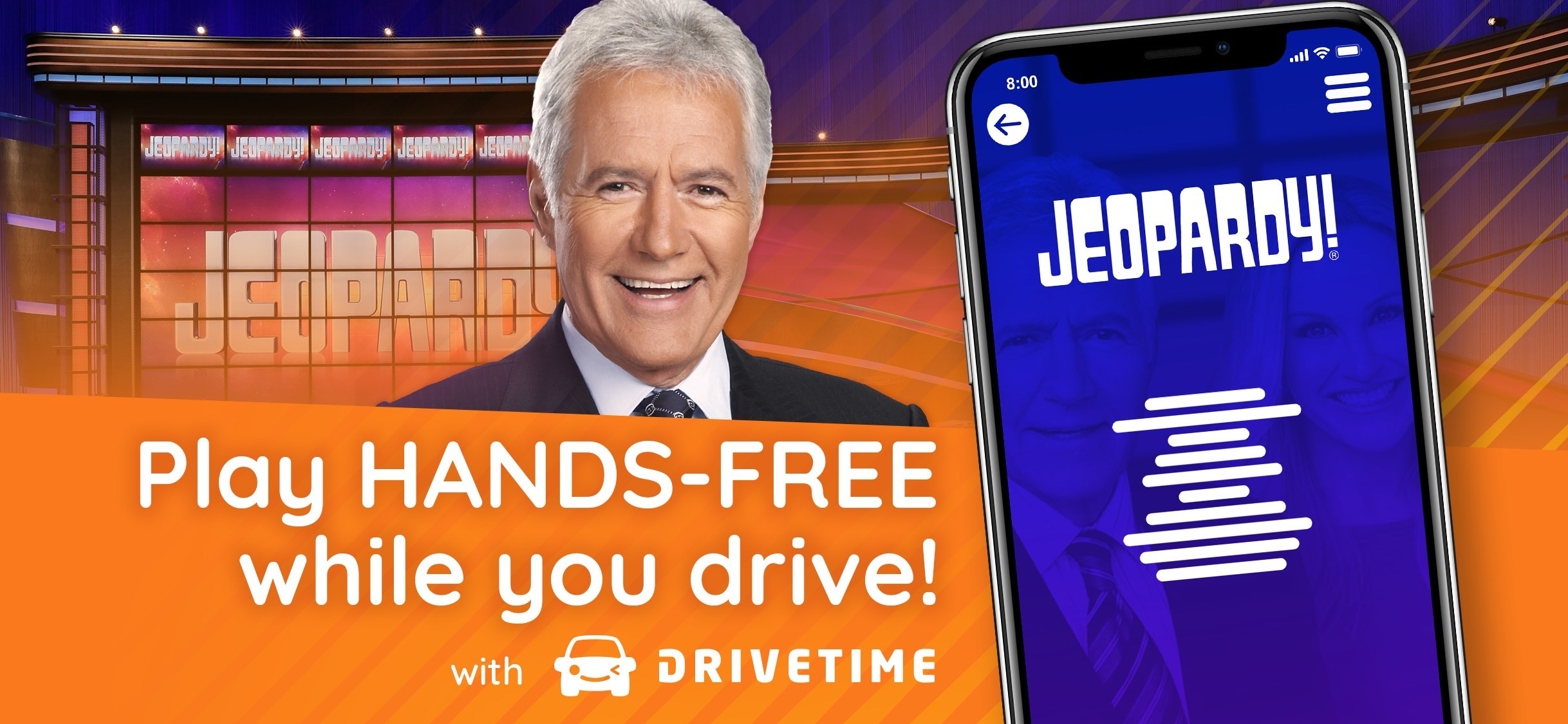 Drivetime Launches JEOPARDY!® on Drivetime, Announces $11M