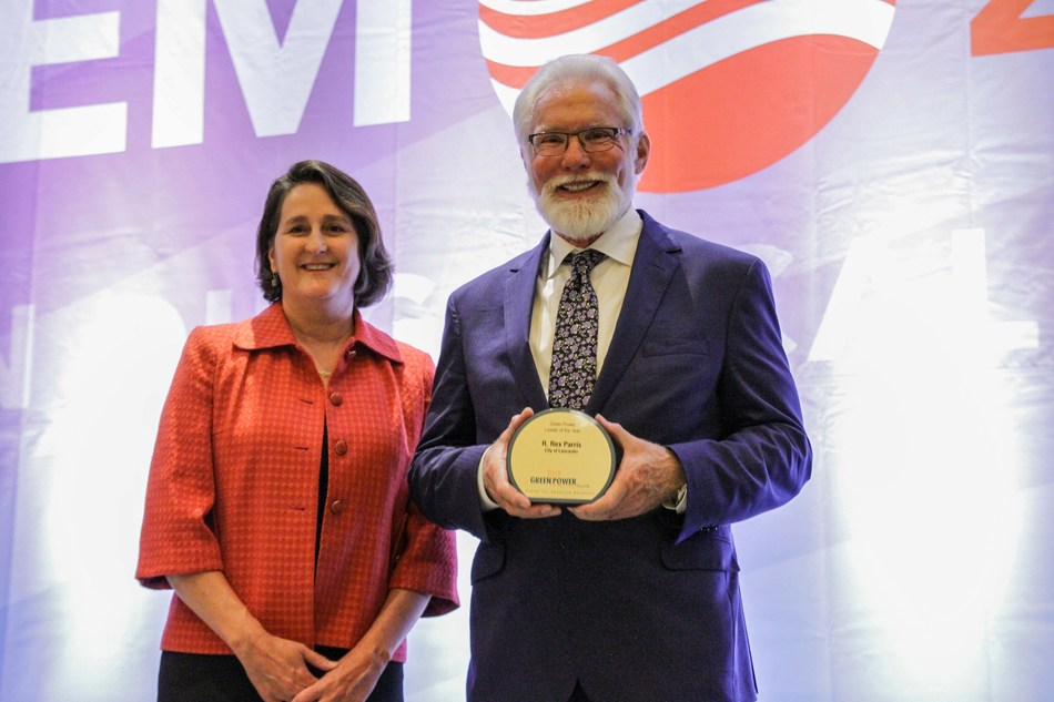 R. Rex Parris named Green Power Leader of the Year by the Environmental Protection Agency (EPA)