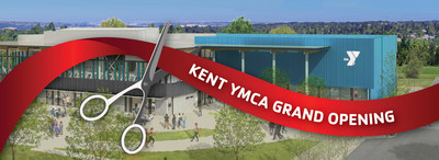 Join the Y for the grand opening of the new Kent YMCA on Saturday, September 14.
