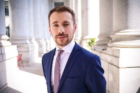 Martin Daraiche, newly appointed as President of NATIONAL Public Relations (CNW Group/NATIONAL Public Relations)