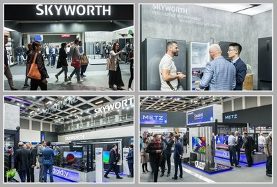 SKYWORTH en IFA 2019 (PRNewsfoto/SKYWORTH)