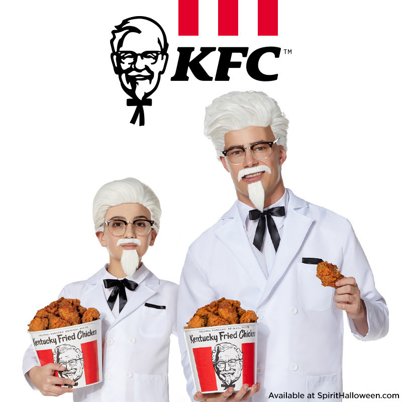 To celebrate Colonel Sanders' 129th birthday, KFC has partnered with Spirit Halloween to launch a limited-edition Halloween costume inspired by the founder's iconic white suit.