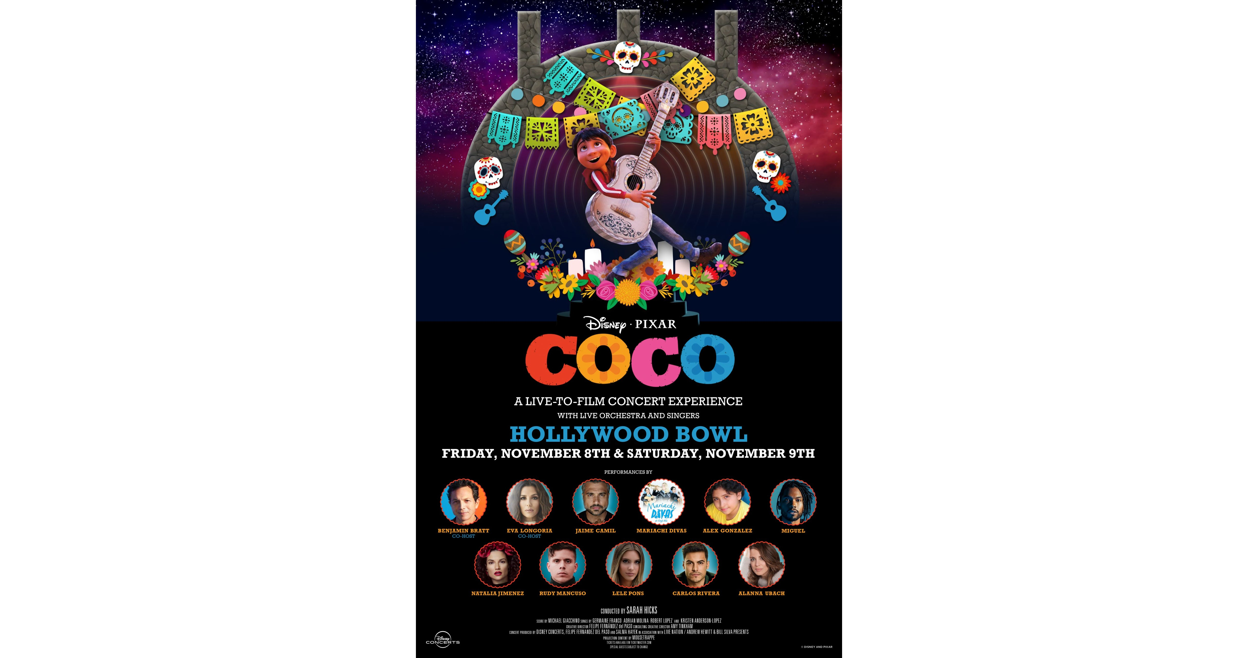 Disney And Pixar's 'Coco' Comes To The Hollywood Bowl For