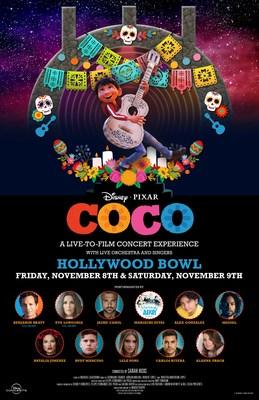 """""""Coco"""", de Disney y Pixar, llega al Hollywood Bowl por primera vez en un concierto en vivo"""